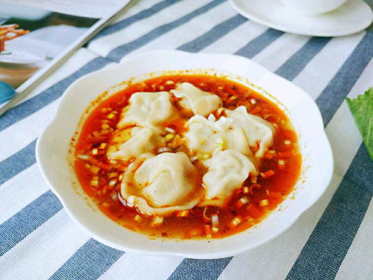 一吃就上瘾的酸汤水饺,吃完爽歪歪图3