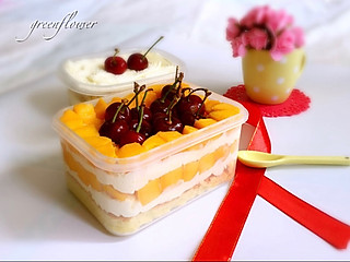 刘大花的芒果便当蛋糕