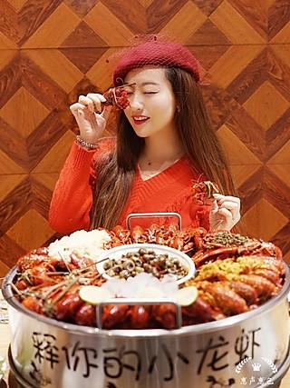 """惠声惠色117的大众点评小龙虾排行榜第一的""""释你的小龙虾""""🦞"""