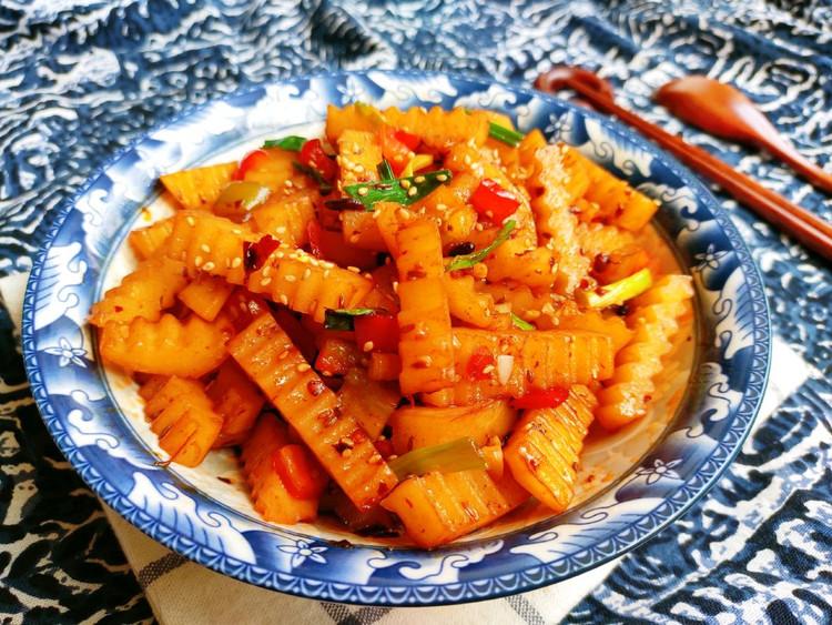 家常版『狼牙土豆』不太辣的版本图2