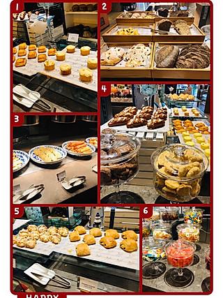 白茶home的上海旅游——酒店自助早餐