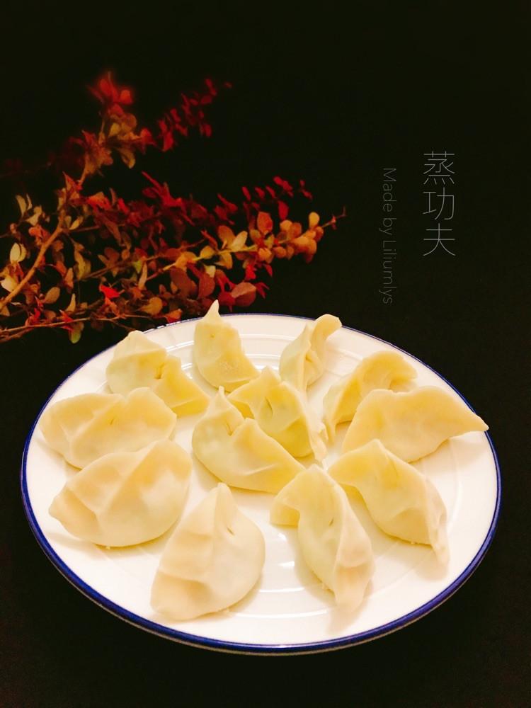 """时令萝卜缨素馅蒸饺,蒸的好吃味鲜美!#""""蒸""""功夫美食大赛#图1"""