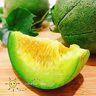 Liliumlys的😘夏日喜欢的瓜瓜果果~绿宝甜瓜