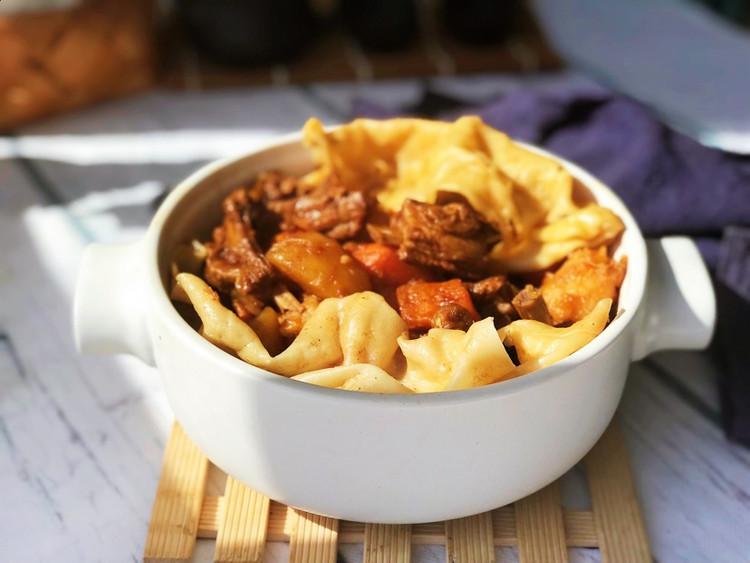 羊肉烀饼,浸透着菜肴的汤汁异常美味!图7