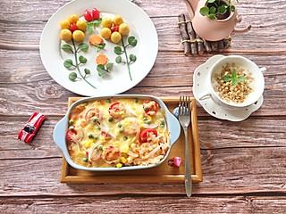 石头妈1的健康营养的小番茄焗饭,打开孩子们挑剔的味蕾