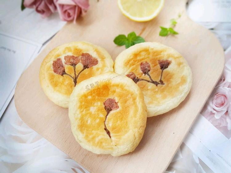 樱花蛋奶包好吃又美丽图2