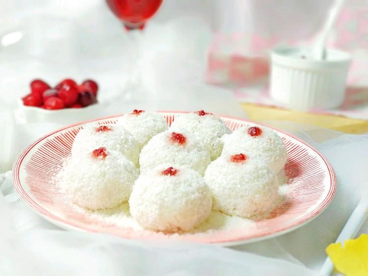 立志做个冻龄美人🌹椰蓉蔓越莓老北京艾窝窝图2