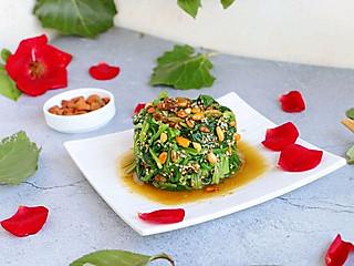 紫绫罗的果仁菠菜,这样才是顶级美味