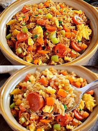 Lincf_v的㊙️好吃到流泪的酱油米饭🍚粒粒分明,好吃到爆‼️