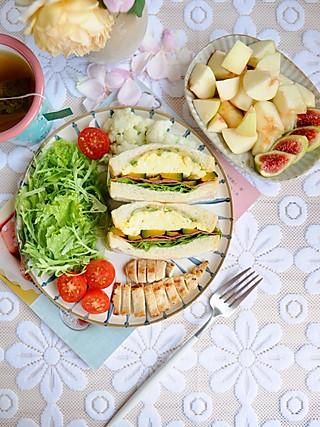 椛吃的一顿精心准备的早餐,健康且美味,迎来元气满满的一天~