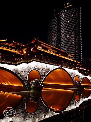 小砖头UP的成都旅行攻略 |PICK一下九眼桥的夜景