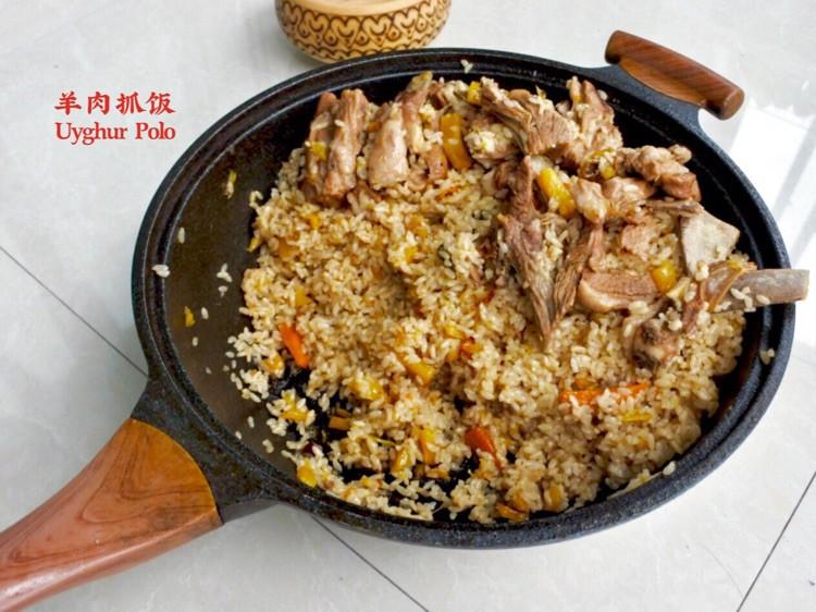 我从新疆回来:新疆羊肉抓饭•恋恋西北家常滋味图1