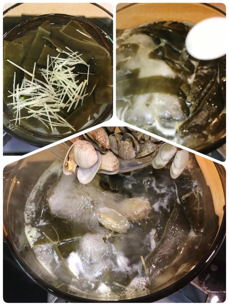 蛤蜊海鲜汤图6