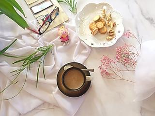 石头妈1的给自己一份下午茶,用心去享受惬意的时光