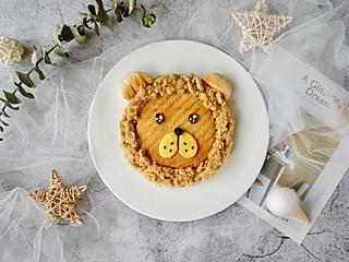 小菁同学的《狮子王》上映了,做一款萌萌的小狮子早餐给小朋友吃好应景哦~