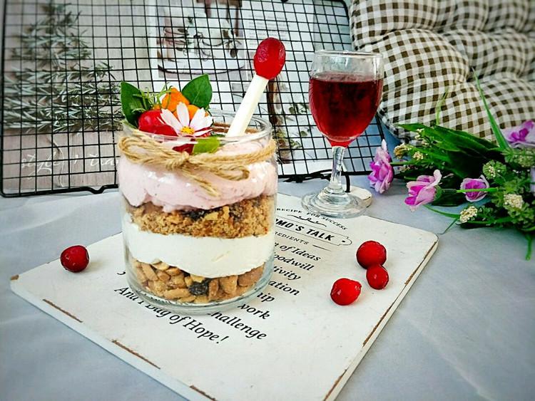 酸香开胃的蔓越莓坚果奶油杯,营养美味,只需10分钟就可做好~图9