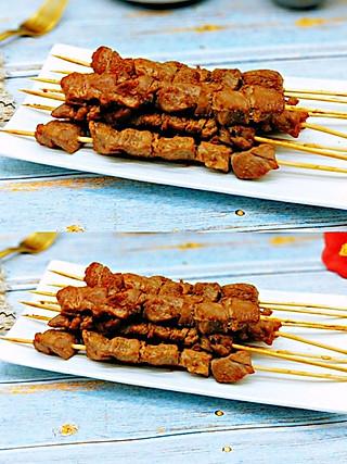枭笑的🔥自制孜然羊肉串㊙️好吃到爆,在家轻松做只需简单几步‼️