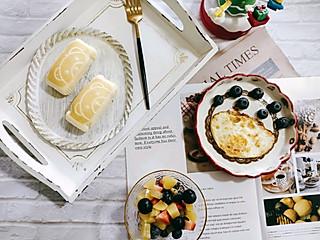 育博木子妈的小熊蛋糕+水果拼盘