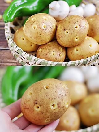 风意画的以假乱真的土豆造型馒头,松软可口,哄娃利器,暑期做起来!