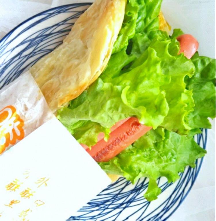 秒杀所有地摊货-早餐简易版的鸡蛋灌饼(手抓饼版)图8