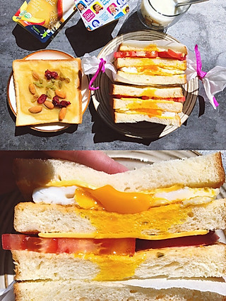 honey啊清清的3分钟搞定低脂健康营养早餐,从此爱上做早餐❗