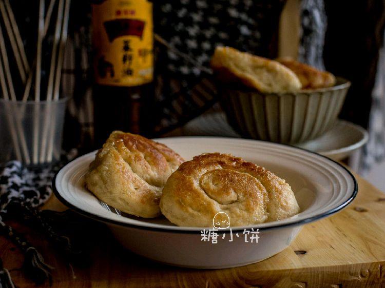 酒酿糖油饼 #金龙鱼外婆乡小榨菜籽油 外婆的时光机#图1
