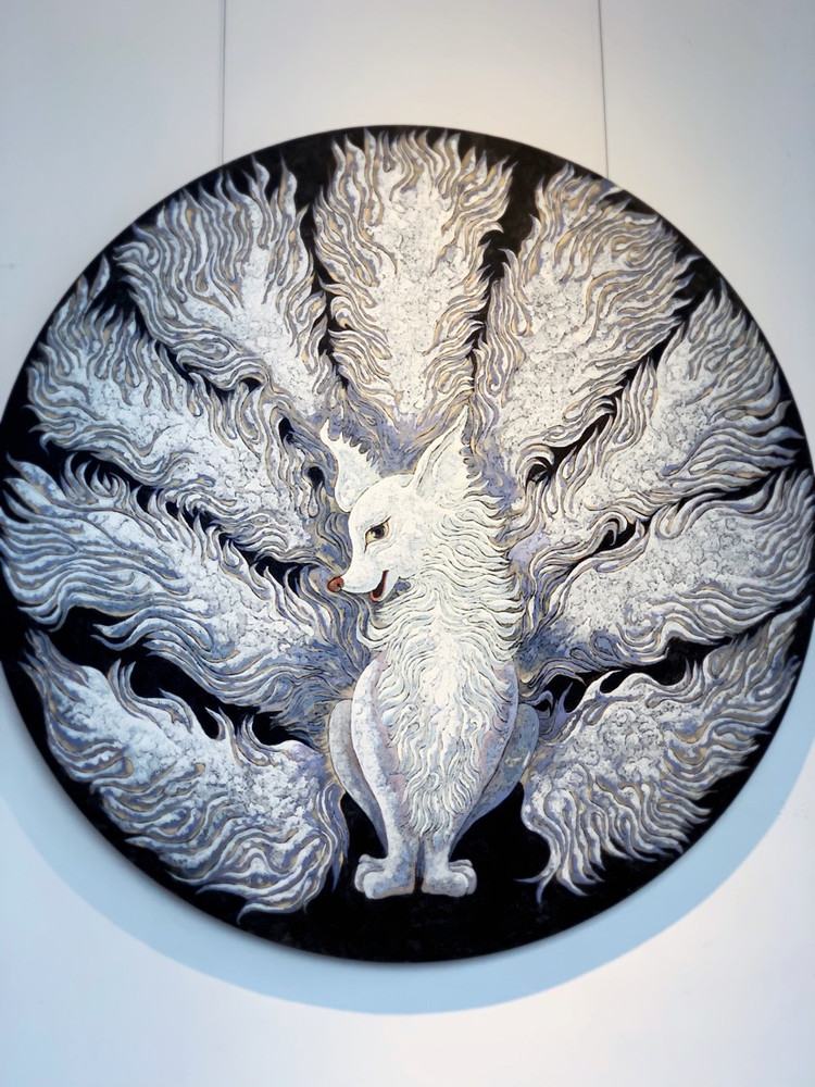 """""""自然而生——中法艺术家交流展""""在树美术馆如期开幕图1"""