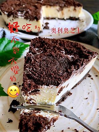 奥利奥芝士蛋糕~好好吃😋