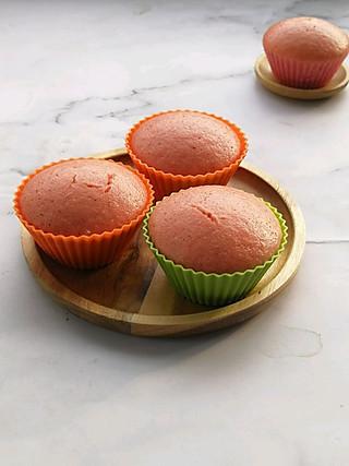 清雅小厨的不揉面不醒面❗️香甜松软的火龙果蒸糕😋好吃到爆