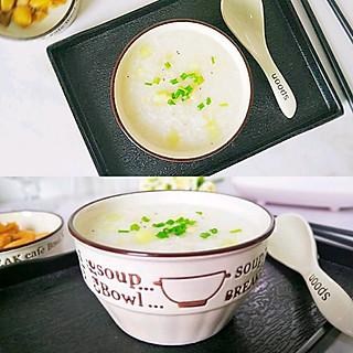 青瓜虾米粥,香滑美味好吸收,宝宝吃了偷长个。