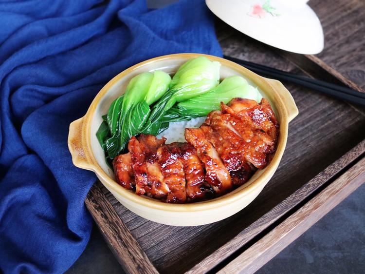 🔥不用一滴水❗️用一口平底锅就能轻松搞定的蜜汁鸡腿排,口感图2