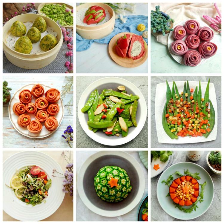 素食也可以做出千变万化的菜品,也可以烹调出百种美味!图3