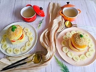 linglingxixi的自己动手做的汉堡包,健康且有创意,可以奇思妙想的做喜欢的口味