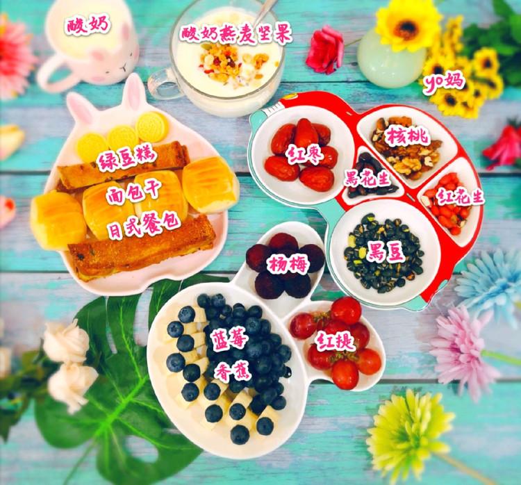 来个造型餐盘合集,整个早餐都变得可爱了(๑• . •๑)!图7