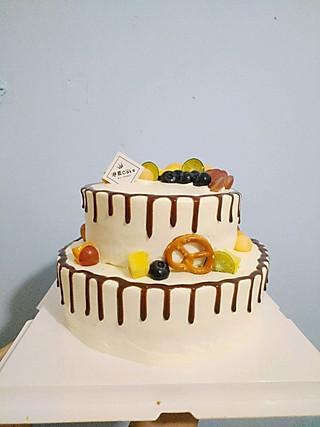 储存恩恩的美食d小角落的水果蛋糕