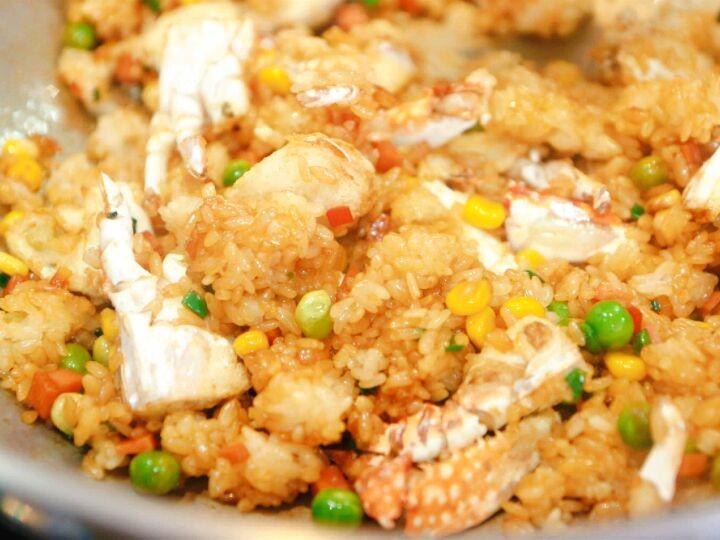 【蟹肉糯米饭】管饱也管鲜~图7