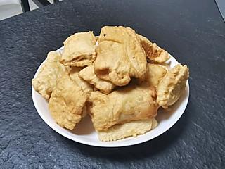 豆豆熊箬竹的炸鸡脖