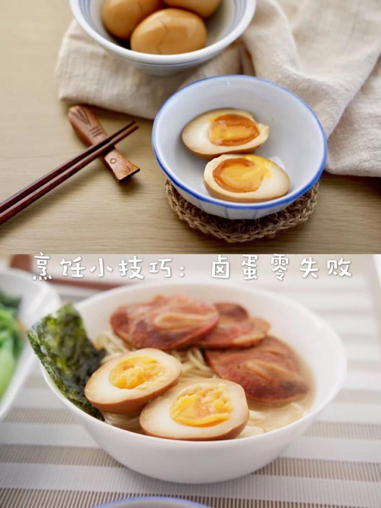 烹饪小技巧:溏心卤蛋零失败法则图1