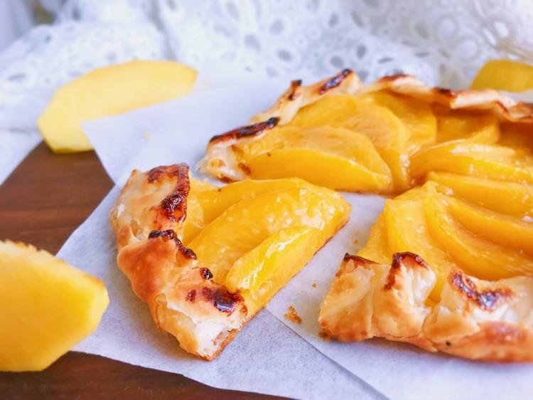 法式黄桃馅饼/派—快手版图2