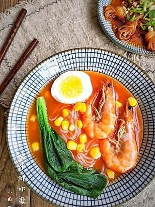 茄汁鲜虾魔芋丝&凉拌魔芋丝结