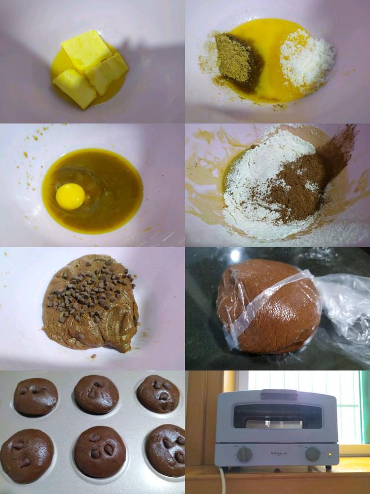 自制浓郁巧克力味~趣多多软曲奇,好吃到停不下来图4