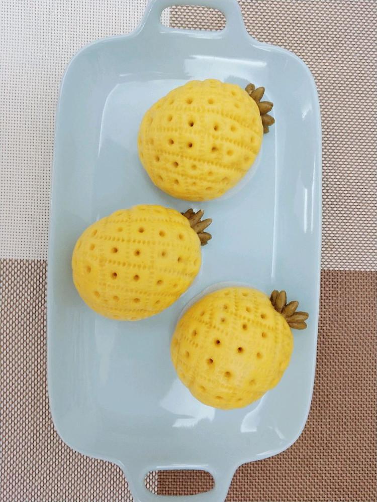 菠萝豆沙包图6