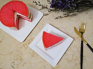 lian2029的韩商言同款红丝绒蛋糕