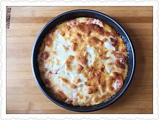 豆粉866834肥头大耳的自己做的披萨🍕真心好吃😋