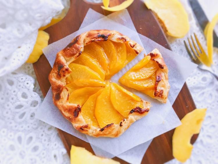法式黄桃馅饼/派—快手版图3