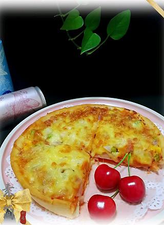如是rushi的披萨 & 椰子气泡水。