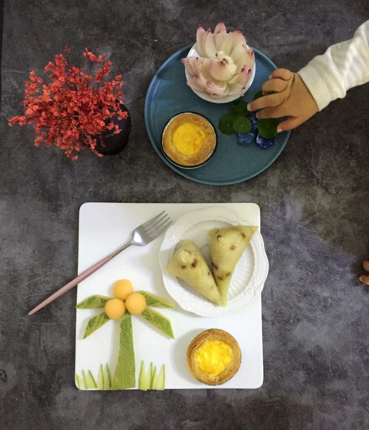 粽子和蛋挞图3