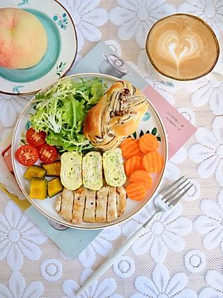 椛吃的做一份营养美味的早餐 记录一些细微的幸福 享受看似平常的小确