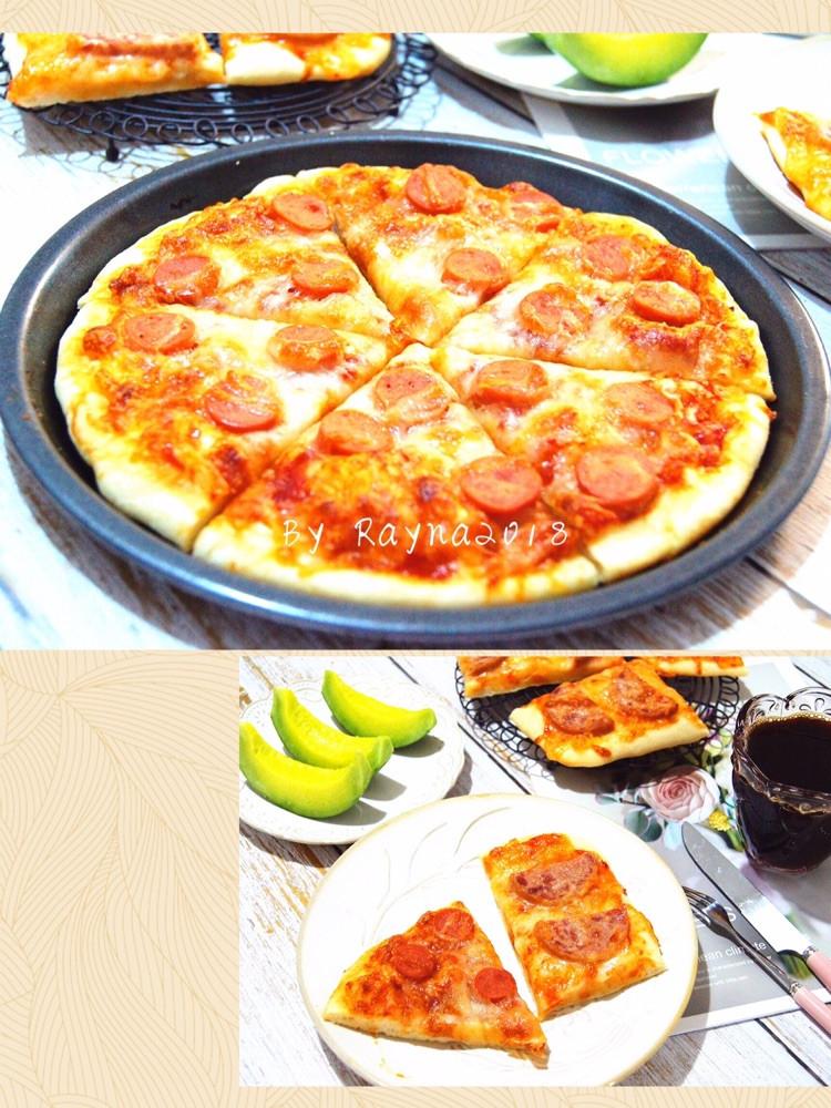 暖胃又暖心的快手早餐香肠披萨🍕图1