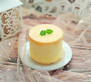 你的笑好甜的可爱的加高四寸戚风蛋糕
